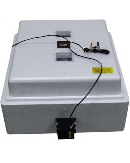Инкубатор Несушка 104 220/12В арт64г, авто переворот для яиц, 1 решётка, цифр.терморег, изм.влажности